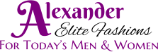 For Today�s Men & Women Elite Fashions  A lexander